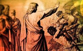jesus and demons